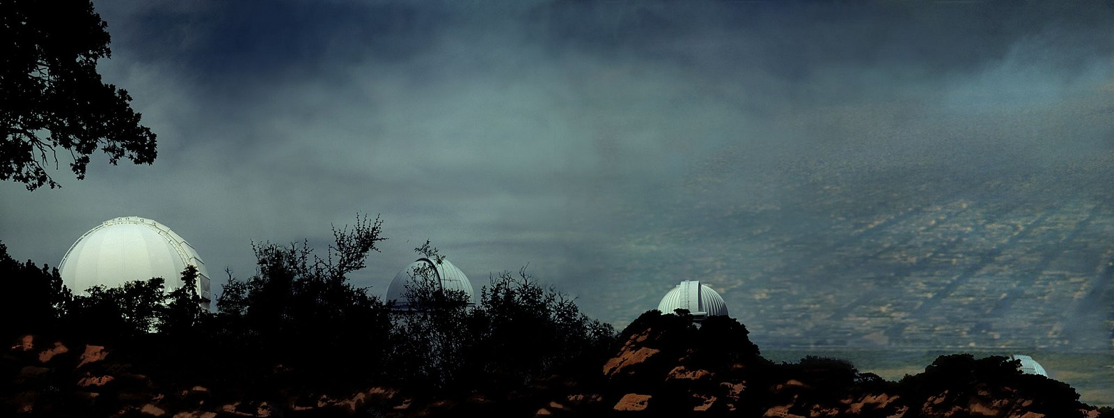 Oliver Wasow, Observatories, Kitt-Peak, Arizona 1994, Cibachrome
